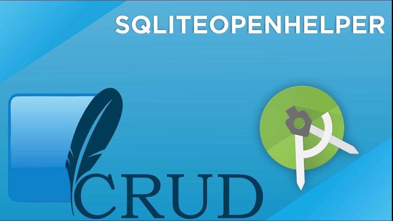 sqlite open helper